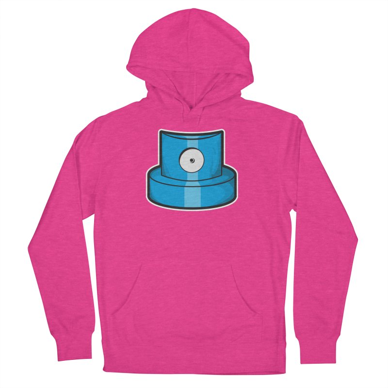 blue cap Women's French Terry Pullover Hoody by manuvila
