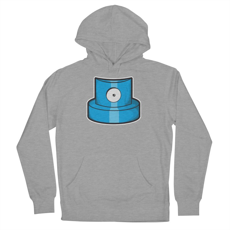 blue cap Men's French Terry Pullover Hoody by manuvila