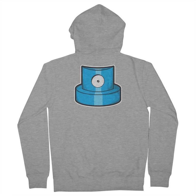 blue cap Men's French Terry Zip-Up Hoody by manuvila