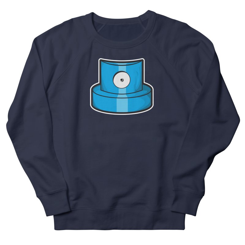 blue cap Women's French Terry Sweatshirt by manuvila