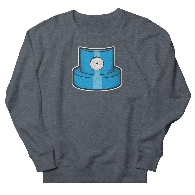 blue cap Men's French Terry Sweatshirt by manuvila