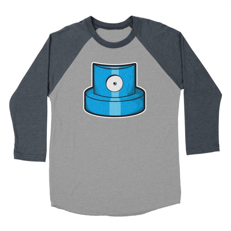 blue cap Men's Baseball Triblend Longsleeve T-Shirt by manuvila