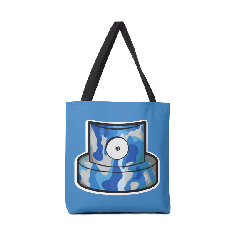 blue camouflage cap Accessories Tote Bag Bag by manuvila