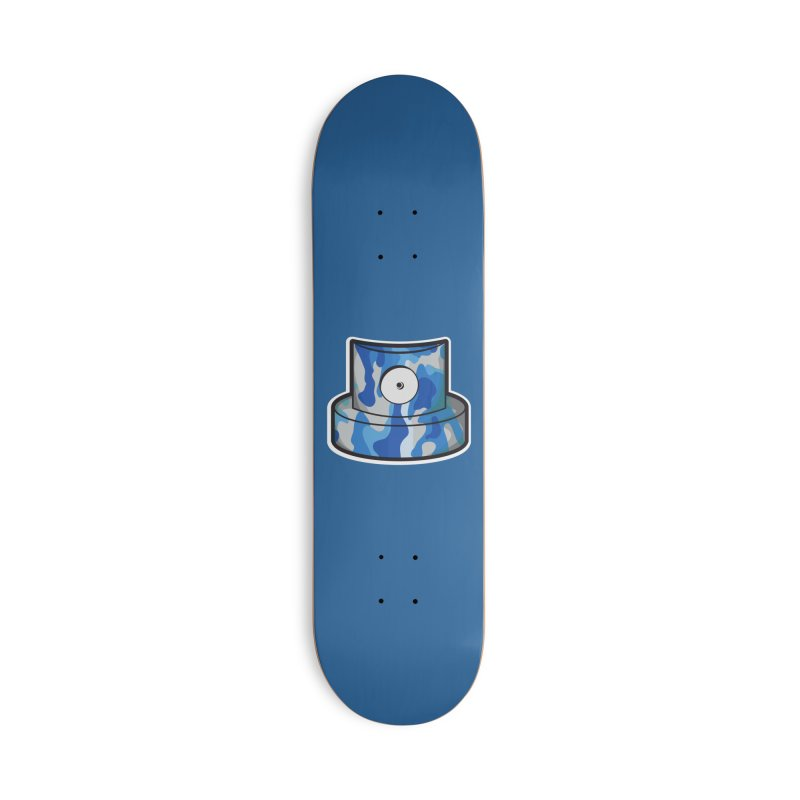 blue camouflage cap Accessories Deck Only Skateboard by manuvila