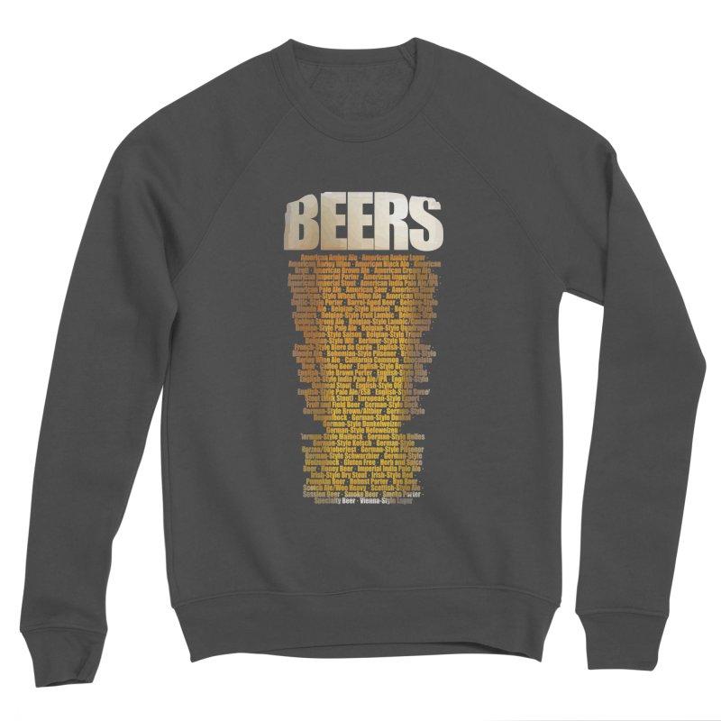 beers types Men's Sponge Fleece Sweatshirt by manuvila