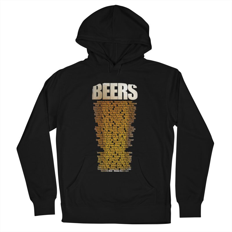 beers types Men's French Terry Pullover Hoody by manuvila
