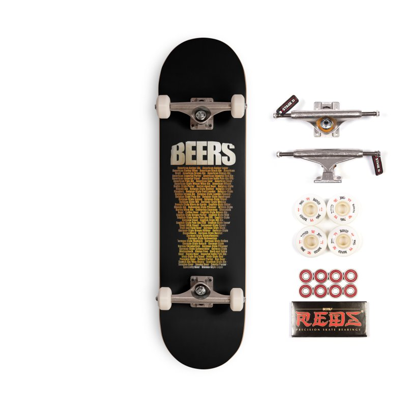 beers types Accessories Complete - Pro Skateboard by manuvila