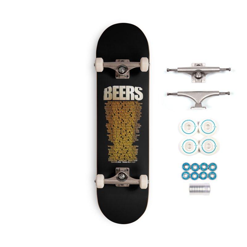 beers types Accessories Complete - Basic Skateboard by manuvila