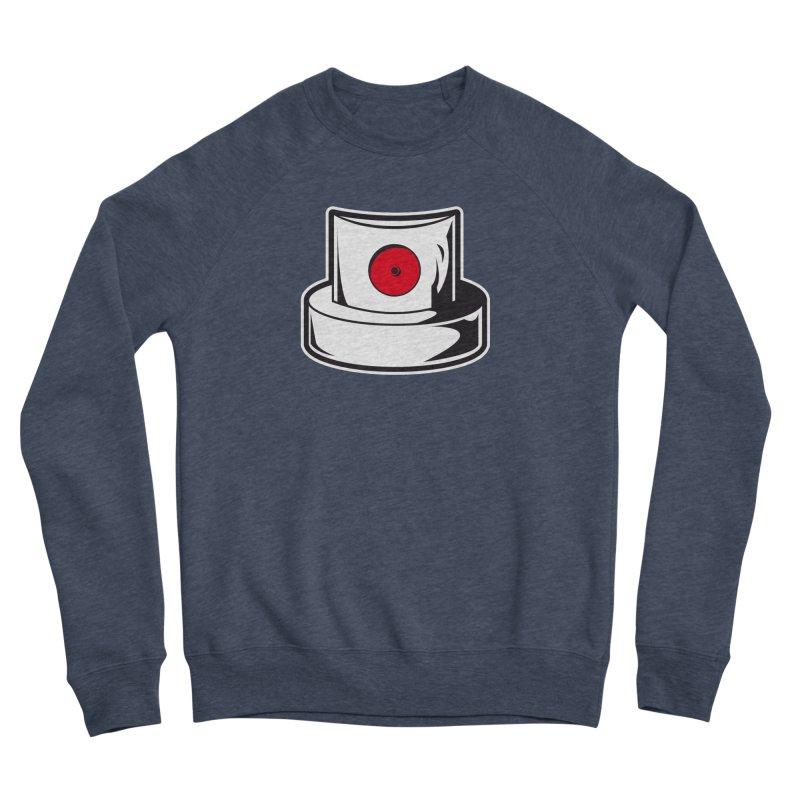 white cap Men's Sponge Fleece Sweatshirt by manuvila