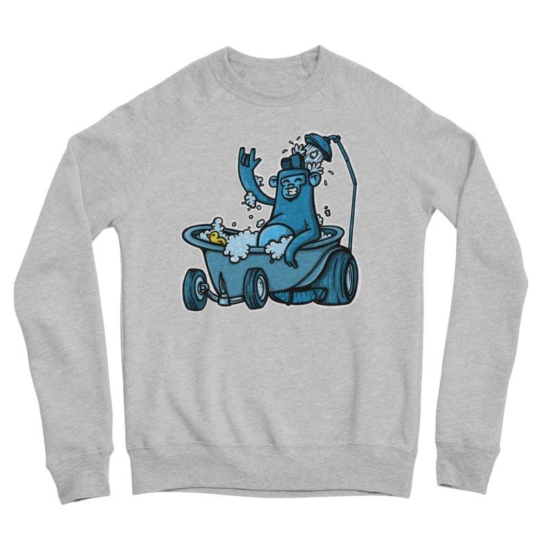 hotrod gorila Women's Sponge Fleece Sweatshirt by manuvila