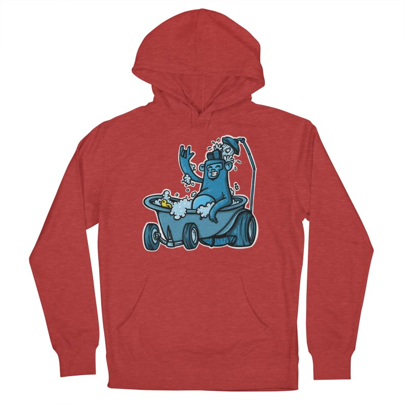 hotrod gorila Men's French Terry Pullover Hoody by manuvila