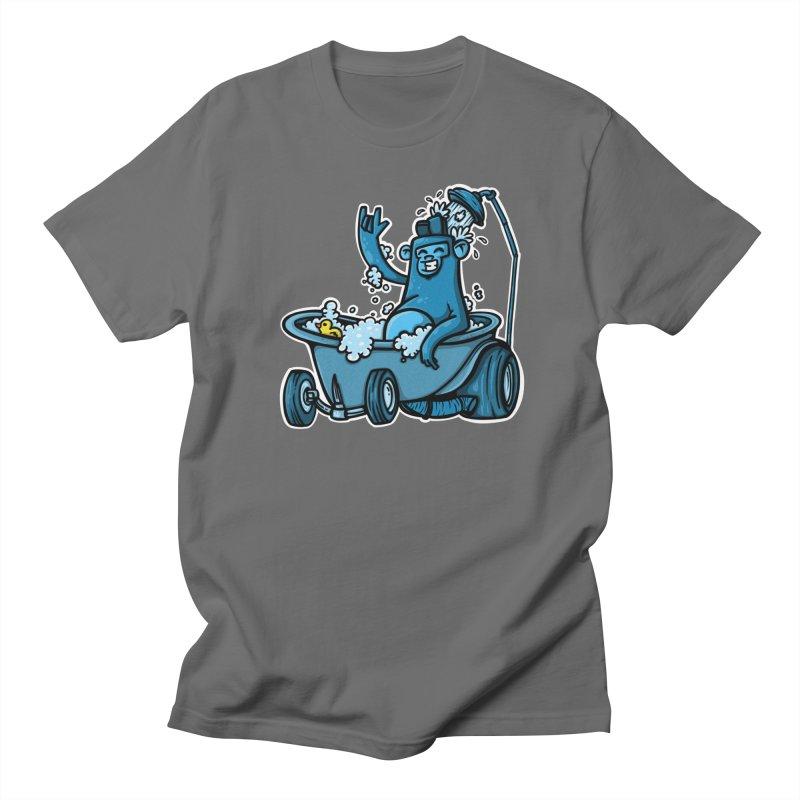 hotrod gorila Men's T-Shirt by manuvila