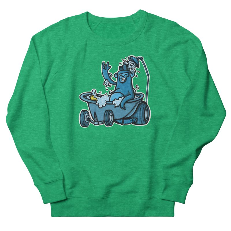 hotrod gorila Men's French Terry Sweatshirt by manuvila