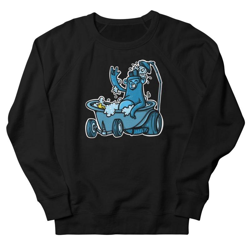 hotrod gorila Men's French Terry Sweatshirt by manuvila