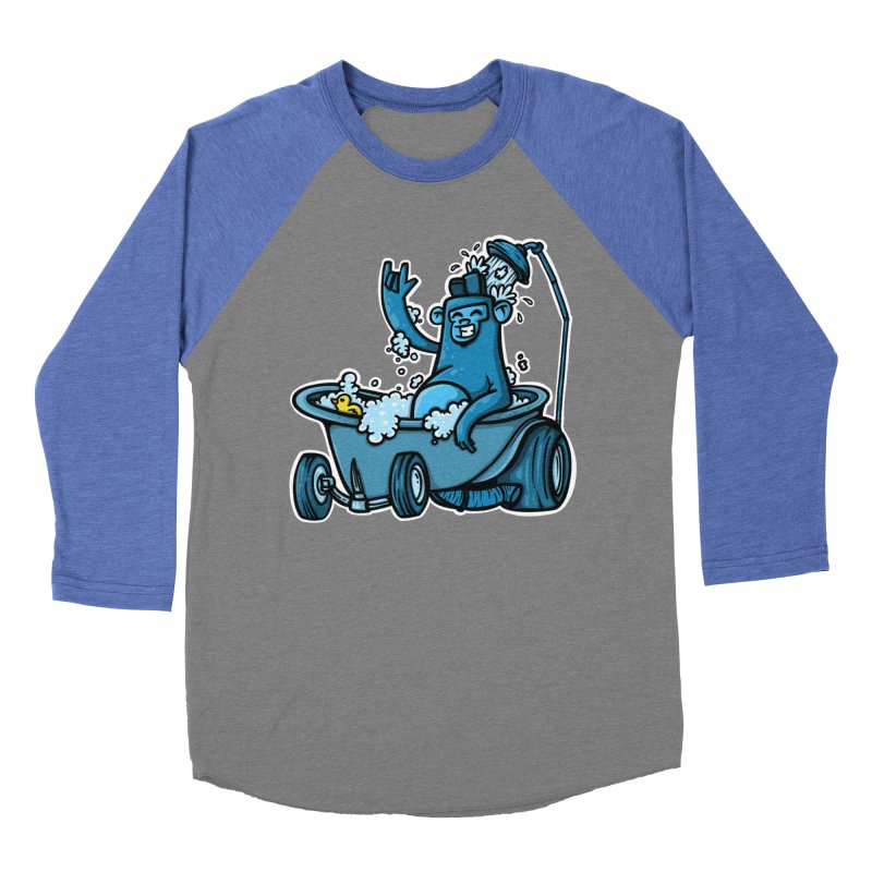 hotrod gorila Women's Baseball Triblend Longsleeve T-Shirt by manuvila