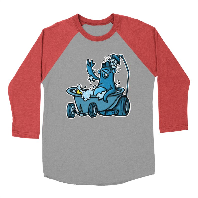 hotrod gorila Men's Baseball Triblend Longsleeve T-Shirt by manuvila