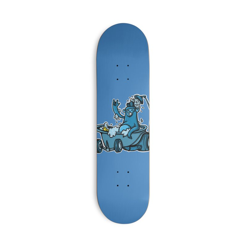 hotrod gorila Accessories Deck Only Skateboard by manuvila