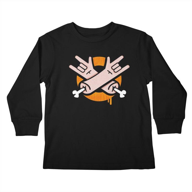 manuvila log2 Kids Longsleeve T-Shirt by manuvila