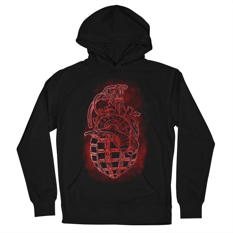 war heart Men's French Terry Pullover Hoody by manuvila