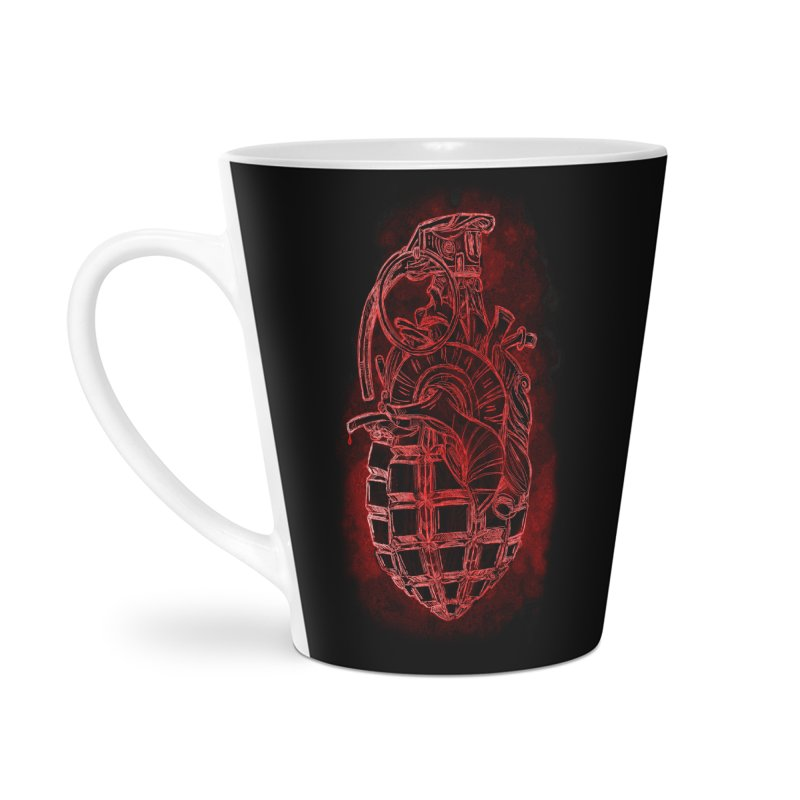 war heart Accessories Latte Mug by manuvila