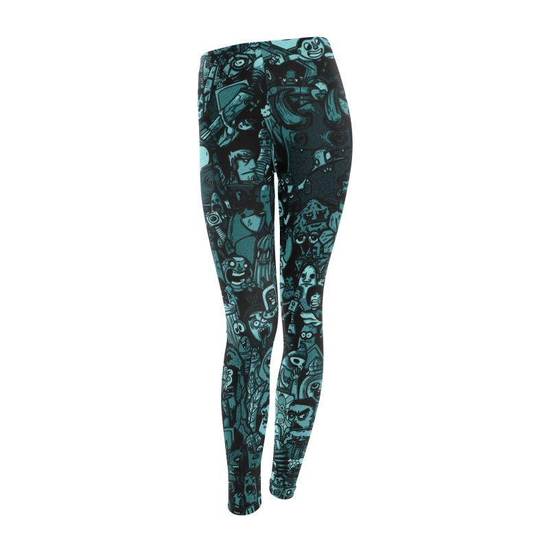 mix Women's Leggings Bottoms by manuvila