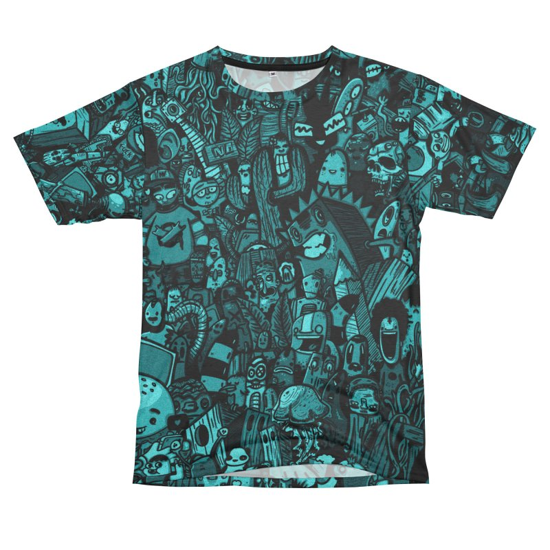 mix Men's French Terry T-Shirt Cut & Sew by manuvila