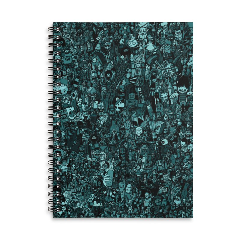 mix Accessories Lined Spiral Notebook by manuvila
