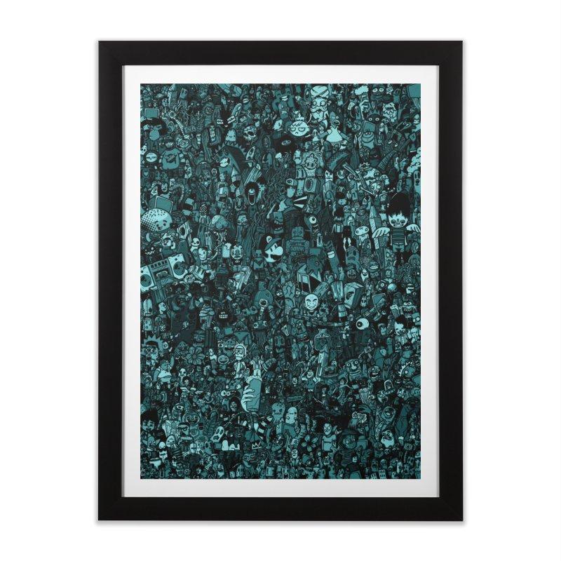 mix Home Framed Fine Art Print by manuvila