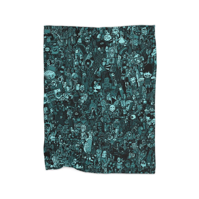 mix Home Fleece Blanket Blanket by manuvila