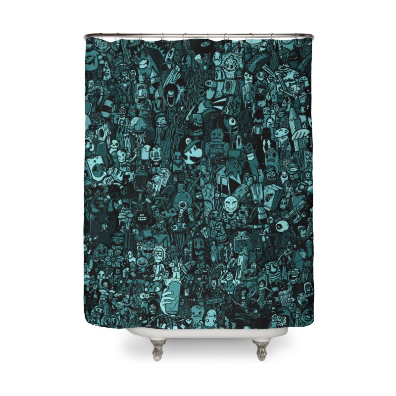 mix Home Shower Curtain by manuvila