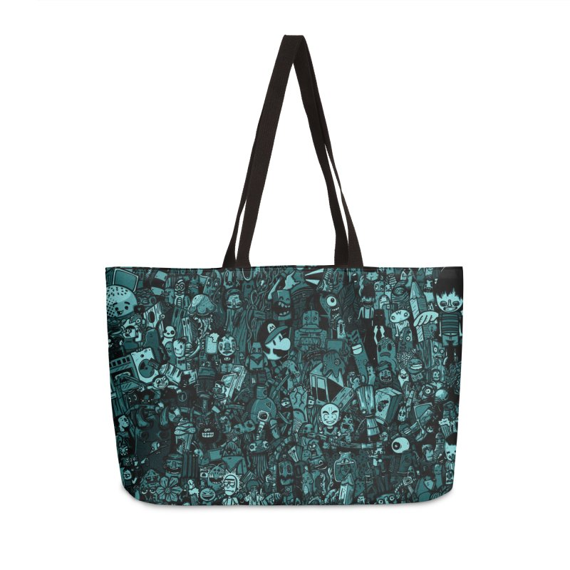 mix Accessories Weekender Bag Bag by manuvila