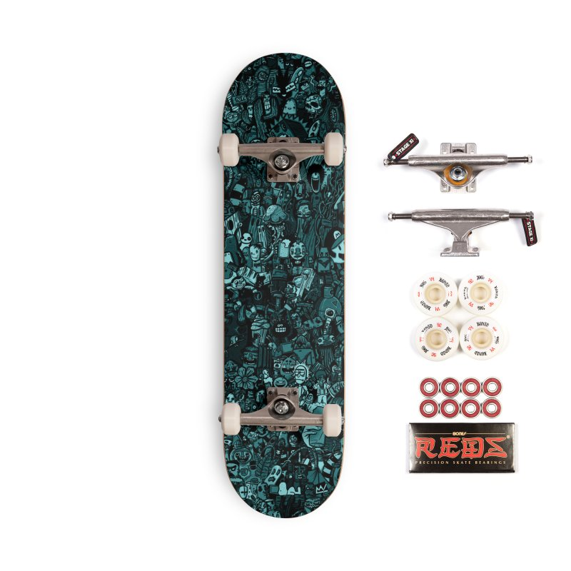 mix Accessories Complete - Pro Skateboard by manuvila