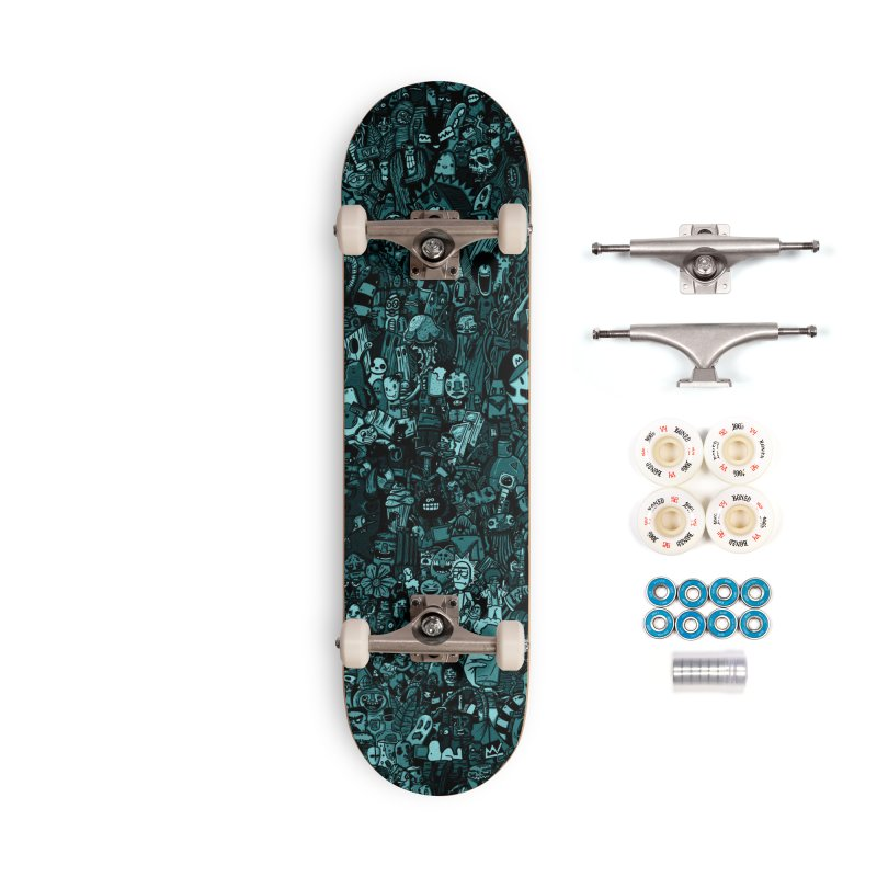 mix Accessories Complete - Premium Skateboard by manuvila