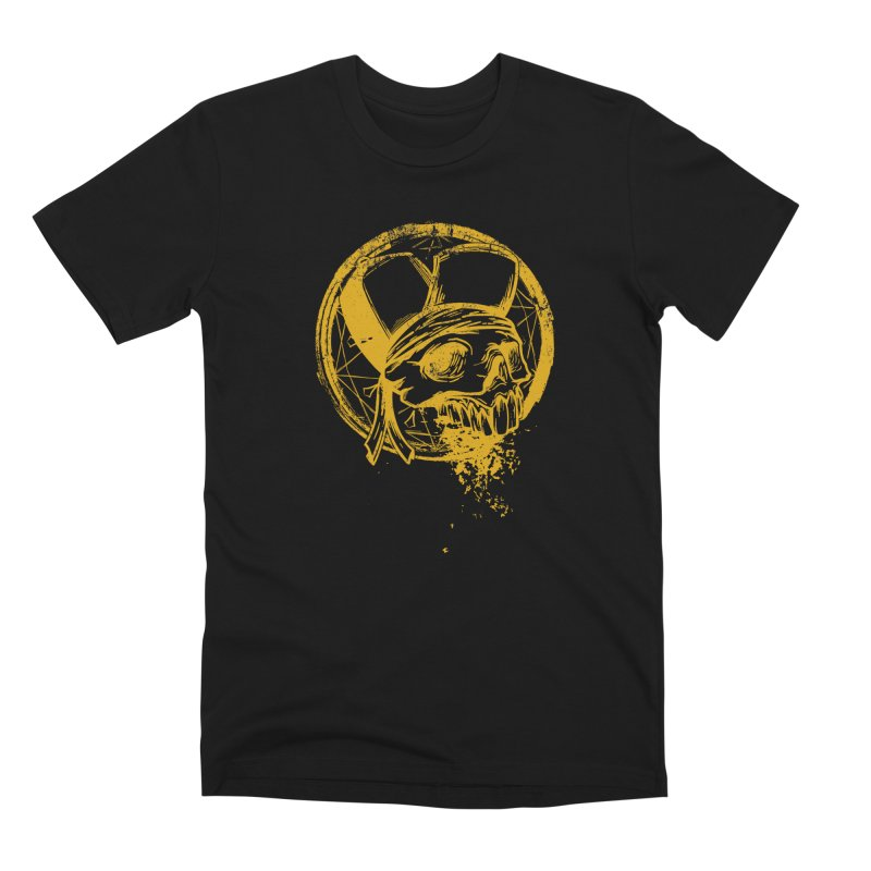 calavera pandillero Men's Premium T-Shirt by manuvila