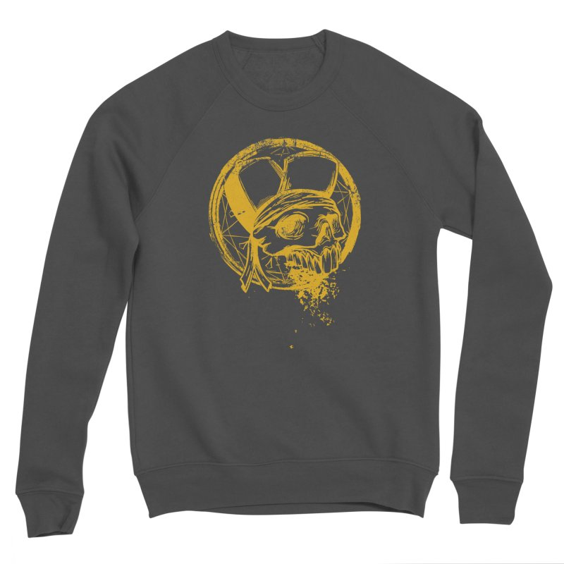 calavera pandillero Men's Sponge Fleece Sweatshirt by manuvila