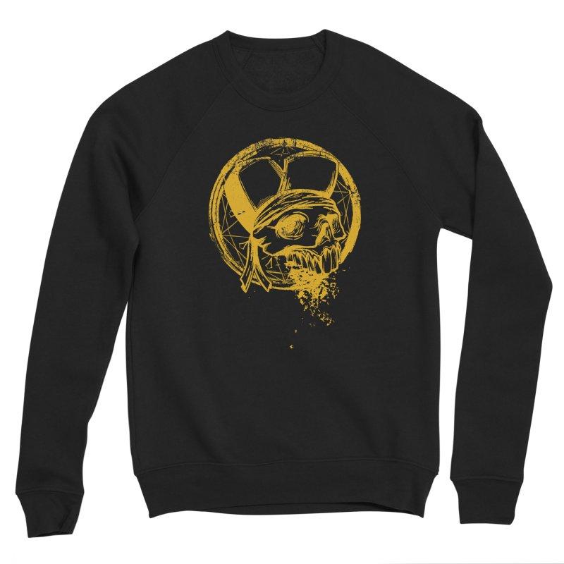 calavera pandillero Men's Sponge Fleece Sweatshirt by manuvila