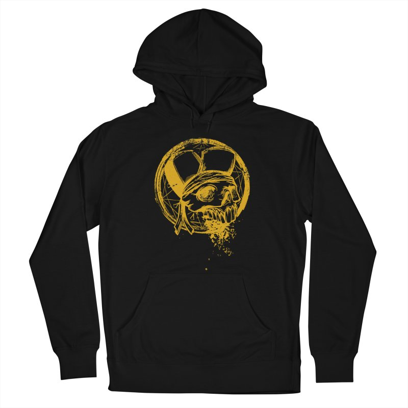 calavera pandillero Men's French Terry Pullover Hoody by manuvila