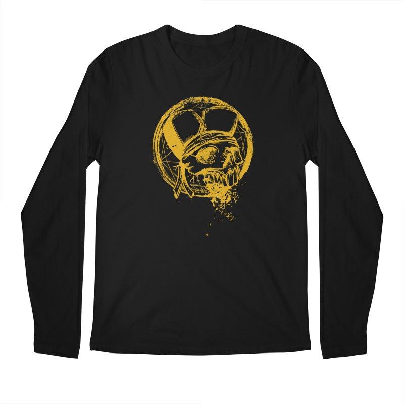 calavera pandillero Men's Regular Longsleeve T-Shirt by manuvila