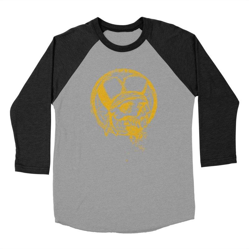 calavera pandillero Men's Baseball Triblend Longsleeve T-Shirt by manuvila