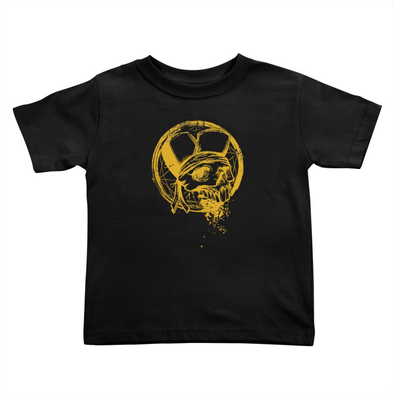 calavera pandillero Kids Toddler T-Shirt by manuvila