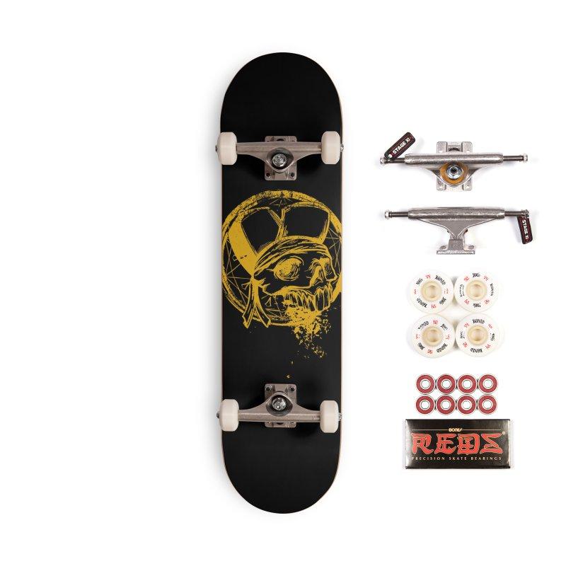 calavera pandillero Accessories Complete - Pro Skateboard by manuvila