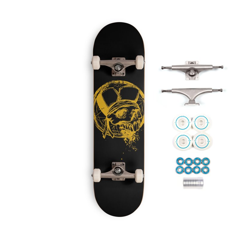 calavera pandillero Accessories Complete - Basic Skateboard by manuvila