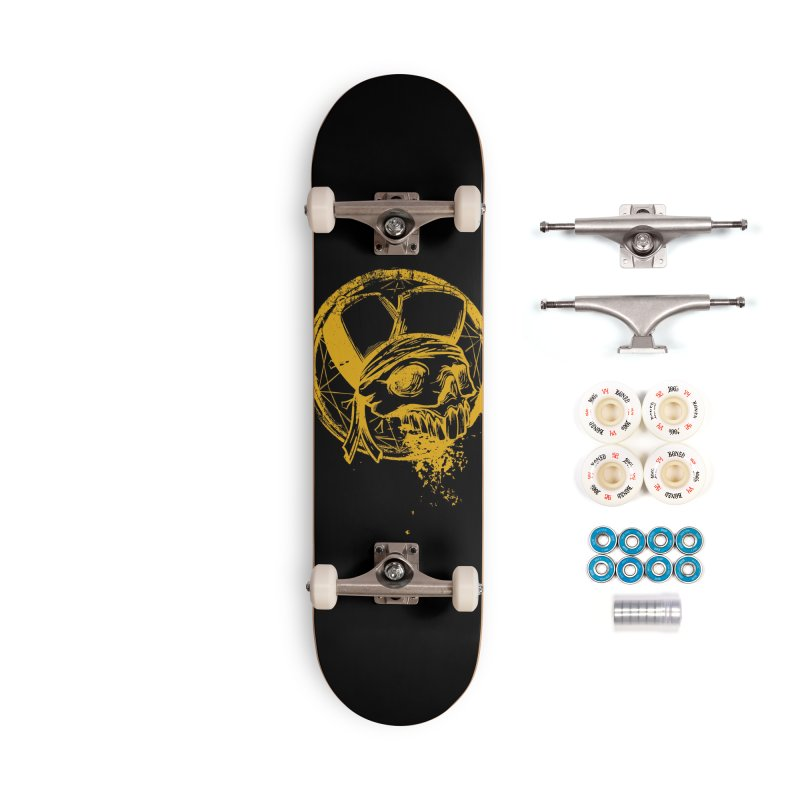 calavera pandillero Accessories Complete - Premium Skateboard by manuvila