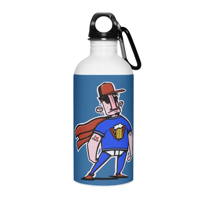 superbeer Accessories Water Bottle by manuvila