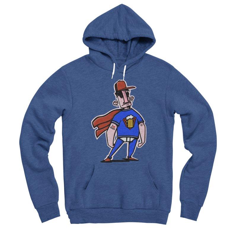 superbeer Men's Sponge Fleece Pullover Hoody by manuvila