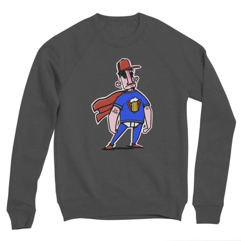 superbeer Men's Sponge Fleece Sweatshirt by manuvila