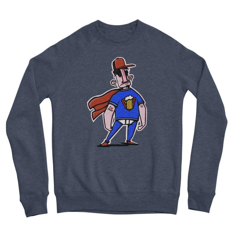 superbeer Women's Sponge Fleece Sweatshirt by manuvila