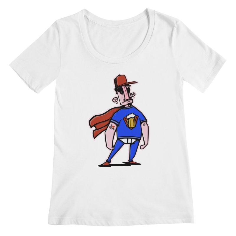 superbeer Women's Regular Scoop Neck by manuvila