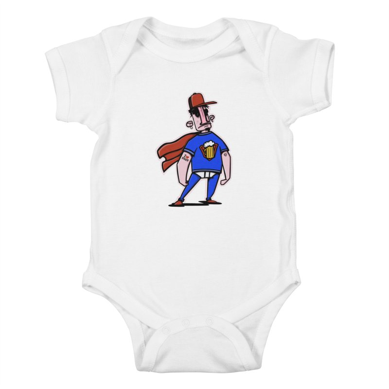 superbeer Kids Baby Bodysuit by manuvila