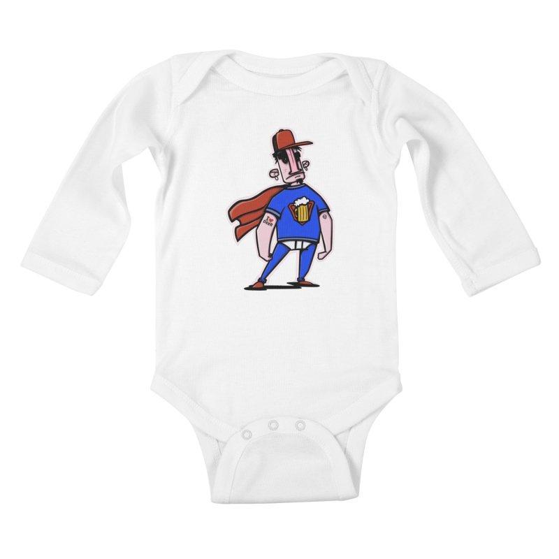 superbeer Kids Baby Longsleeve Bodysuit by manuvila